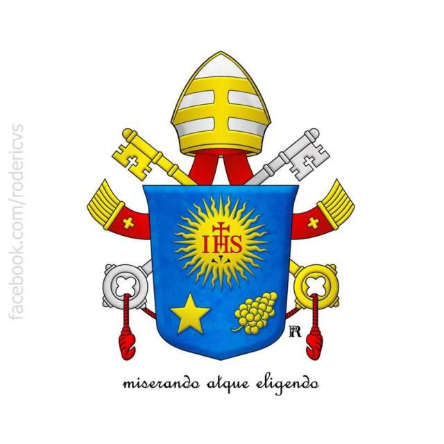 papa francisco brasão