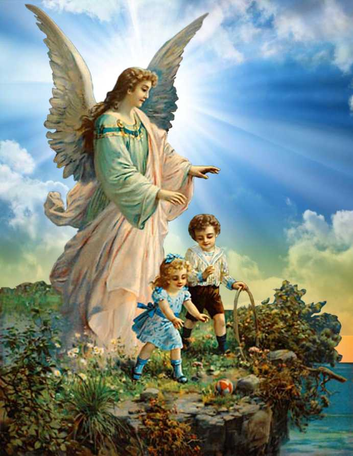 Santos Anjos Da Guarda Creio